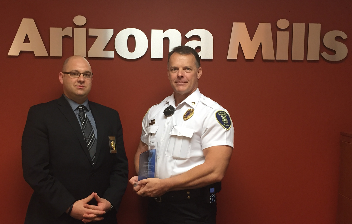Mall Security Officer Honored For Outstanding Performance Security Info Watch