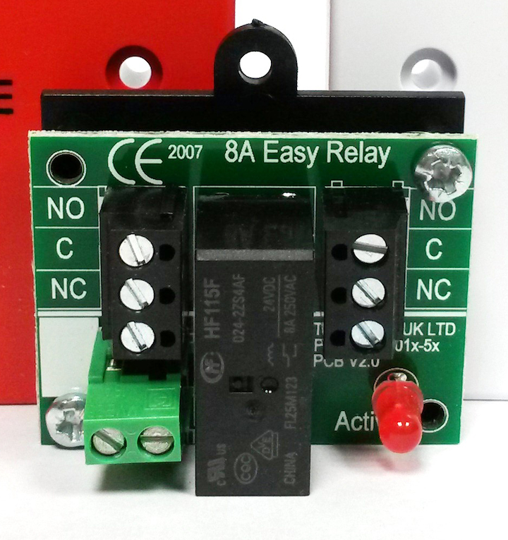 common house wiring alarm relays a simple way to interface with elaborate systems  relays a simple way to interface with